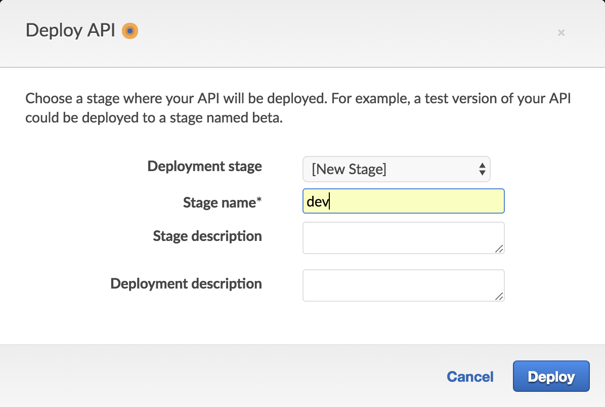 Processing forms on AMP pages with Amazon API Gateway and
